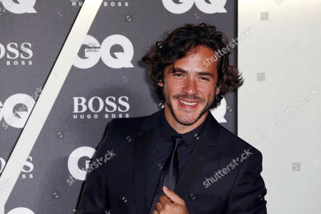 Jack Savoretti poses for photographers on arrival at the GQ Men of the year Awards in central London on