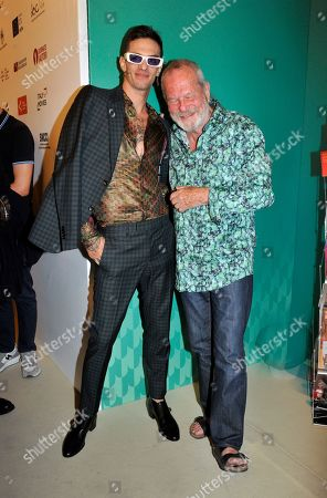 Achille Lauro and Terry Gilliam