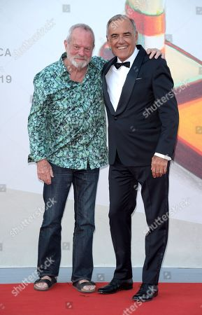 Terry Gilliam and Alberto Barbera