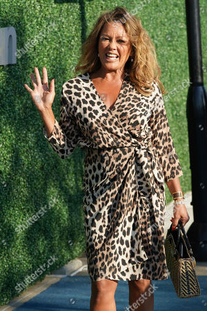Vanessa Williams attends the quarterfinals of the U.S. Open tennis championships, in New York