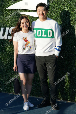 Maia Shibutani, Alex Shibutani. Maia Shibutani, left, and Alex Shibutani attend the quarterfinals of the U.S. Open tennis championships, in New York