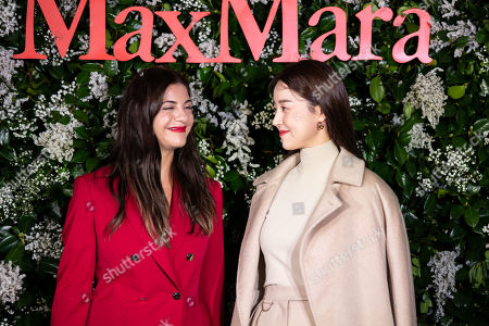 Editorial picture of 'Max Mara' flagship store launch, Seoul, South Korea - 04 Sep 2019