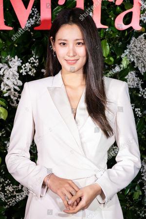 Editorial photo of 'Max Mara' flagship store launch, Seoul, South Korea - 04 Sep 2019