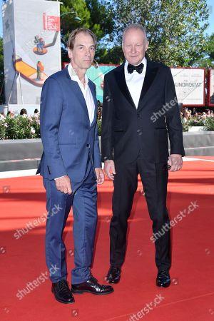 Julian Sands and Stellan Skarsgard