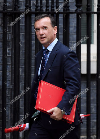 Alun Cairns, Secretary of State for Wales, arrives at No.10 Downing Street, London.