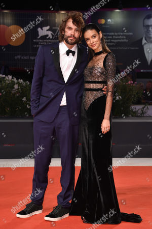 Laysla De Oliveira and Rossif Sutherland