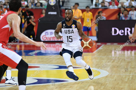 Editorial photo of USA v Turkey, FIBA Basketball World Cup, Shanghai, China - 03 Sep 2019
