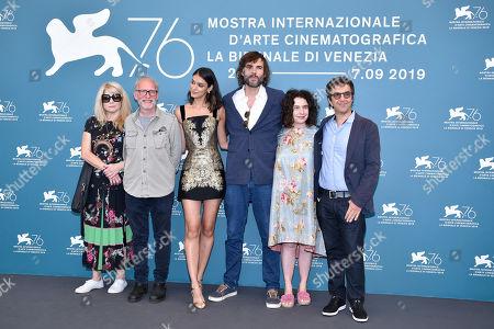Stock Picture of Laysla De Oliveira, Rossif Sutherland, Arsinee Khanjian and Atom Egoyan