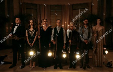 Kristian Bruun as Fitch Bradley, Melanie Scrofano as Emilie, Andie MacDowell as Becky Le Domas, Henry Czerny as Tony Le Domas, Nicky Guadagni as Aunt Helene, Adam Brody as Daniel Le Domas and Elyse Levesque as Charity Le Domas
