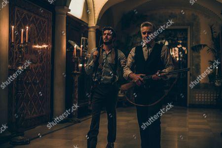 Adam Brody as Daniel Le Domas and Henry Czerny as Tony Le Domas