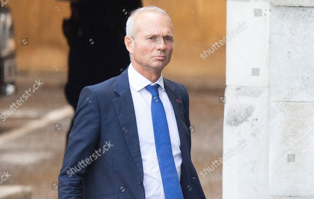 MP for Aylesbury David Lidington walks in Parliament ahead of Boris Johnsons first PMQs.
