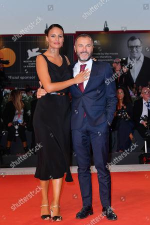 Shalana Santana and Massimiliano Gallo