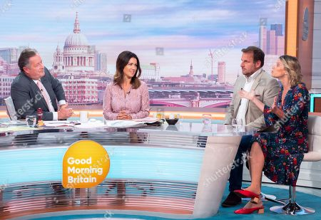 Editorial photo of 'Good Morning Britain' TV show, London, UK - 04 Sep 2019