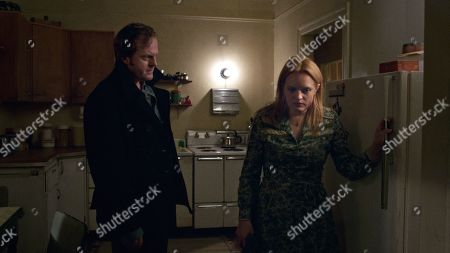 Jeremy Bobb as Rob Walsh and Elisabeth Moss as Claire Walsh