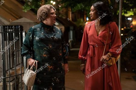 Stock Image of Margo Martindale as Helen O'Carroll and Tiffany Haddish as Ruby O'Carroll