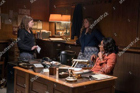 Andrea Berloff Director, Melissa McCarthy as Kathy Brennan and Tiffany Haddish as Ruby O'Carroll
