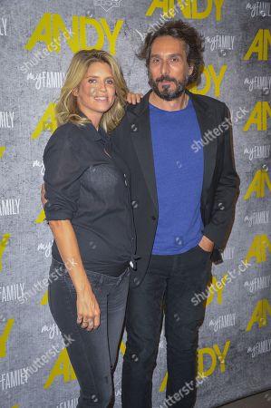 Alice Taglioni and Vincent Elbaz