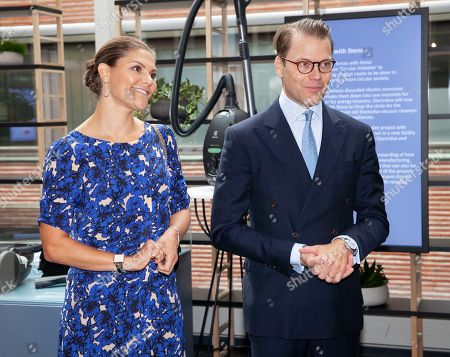 Princess Victoria and Prince Daniel visit the Electrolux Company, Stockholm