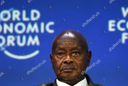 Ugandan President Yoweri Museveni attends the World Economic Forum on Africa Summit in Cape Town, South Africa, . The three-day summit will tackle the issues faced by the continent by focusing on how to scale up the transformation of regional architecture related to smart institutions, investment, integration, industry and innovation