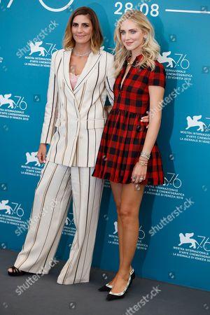 Elisa Amoruso and Chiara Ferragni