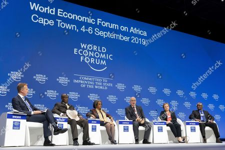 Editorial image of World Economic Forum on Africa, Cape Town, South Africa - 04 Sep 2019
