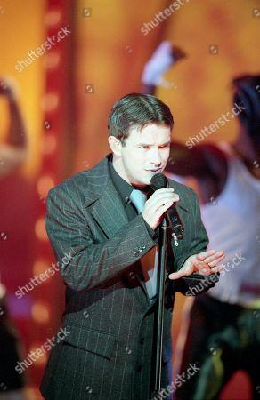 Boyzone - Stephen Gately performs