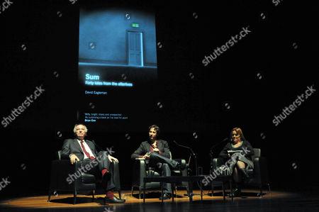 Philip Pullman, David Eagleman and Kirsty Lang
