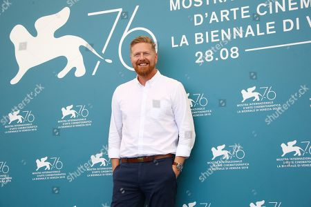 Stock Photo of Matthew Michael Carnahan pose for photographers at the photo call for the film 'Mosul' at the 76th edition of the Venice Film Festival in Venice, Italy