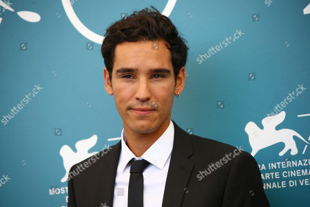 Adam Bessa poses for photographers at the photo call for the film 'Mosul' at the 76th edition of the Venice Film Festival in Venice, Italy