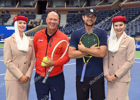 Editorial picture of US Open Tennis Championships, Pro Am, USTA National Tennis Center, Flushing Meadows, New York, USA - 04 Sep 2019