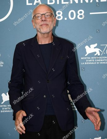 Pascal Greggory poses at a photocall for 'Lan Xin Da Ju Yuan(Saturday Fiction) ' during the 76th annual Venice International Film Festival, in Venice, Italy, 04 September 2019. The movie is presented in the official competition 'Venezia 76' at the festival running from 28 August to 07 September.