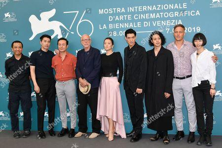 Ma Yingli, guest, Pascal Greggory, Mark Chao, Ye Lou, Gong Li, guest, Joe Odagiri, Tom Wlaschiha and Huang Xiangli