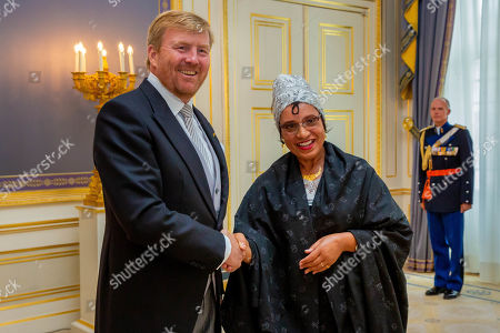Editorial picture of Swearing in at Noordeinde palace, The Hague, Netherlands - 04 Sep 2019