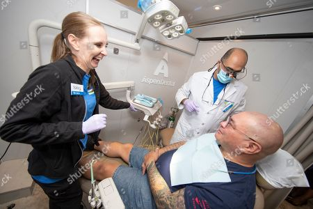 Editorial photo of Aspen Dental MouthMobile Event - , PA, Allentown, USA - 04 Sep 2019