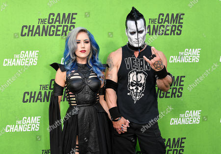 Stock Photo of Doyle Wolfgang von Frankenstein and Alissa White Gluz