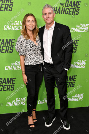 Stock Photo of Jennifer Utley and Chase Utley