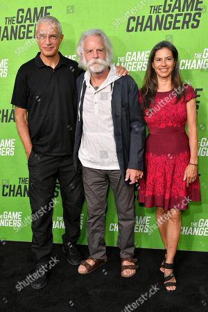 Louie Psihoyos, Bob Weir and Natascha Munter
