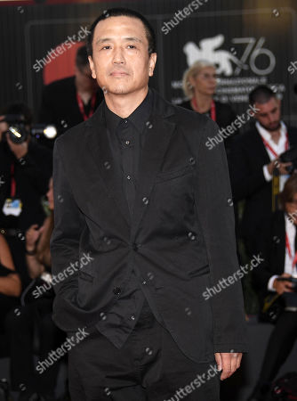 Lou Ye arrives for the premiere of 'Lan Xin Da Ju Yuan (Saturday Fiction)' during the 76th annual Venice International Film Festival, in Venice, Italy, 04 September 2019. The movie is presented in the official competition 'Venezia 76' at the festival running from 28 August to 07 September.ORATI
