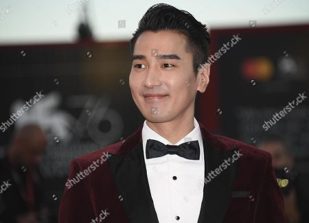 Mark Chao arrives for the premiere of 'Lan Xin Da Ju Yuan (Saturday Fiction)' during the 76th annual Venice International Film Festival, in Venice, Italy, 04 September 2019. The movie is presented in the official competition 'Venezia 76' at the festival running from 28 August to 07 September.ORATI