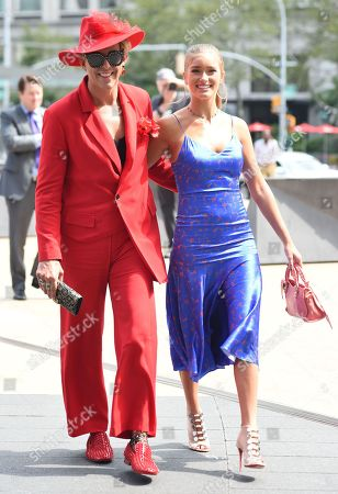 Derek Warburton and Mia Mithoff
