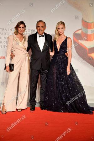 Elisa Amoruso, Alberto Barbera, Chiara Ferragni