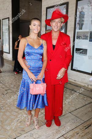 Stock Picture of Mia Mithoff and Derek Warburton