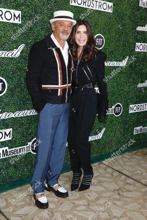 Christian Louboutin and Lois Robbins