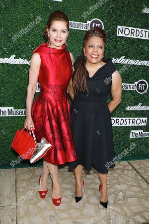 Jean Shafiroff and Valerie Simpson