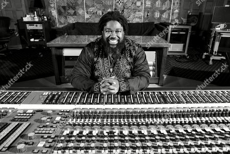 """Stock Photo of This photo shows Derek Dixie at NRG Studio in Los Angeles. In true Beyonce Knowles fashion, when Dixie, her music director, learned he earned his first-ever Emmy nomination for his work on the pioneering project, """"HOMECOMING: A Film by Beyonce Knowles, """" he was too busy to celebrate _ because he was focused on producing the superstar's next album"""
