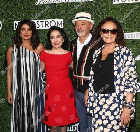 Priyanka Chopra, Dr. Joyce F. Brown, Christian Louboutin and Diane von Furstenberg