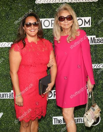Stock Photo of Anna Kennedy Safir and Eleanora Kennedy