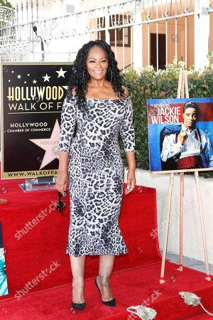 Editorial image of US singer Jackie Wilson honored with star post humously, Los Angeles, USA - 04 Sep 2019