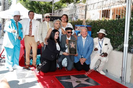 Marshall Thompson, Smokey Robinson, Mary Wilson, Berry Gordy, John Wilson at a ceremony honoring US singer Jackie Wilson post humously with the 2672nd star on the Hollywood Walk of Fame in Hollywood, Los Angeles, California, USA, 04 September 2019. The star was dedicated in the category of Recording.