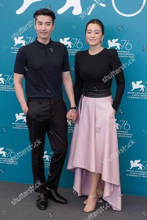 Mark Chao and Gong Li